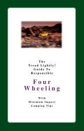 4 Wheel Drive Guide - Tread Lightly
