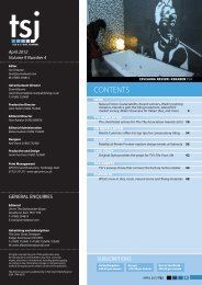 Download TSJ April 2012 - Tile and Stone Journal