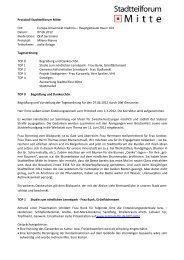 Protokoll der Sitzung am 7. Juni 2012