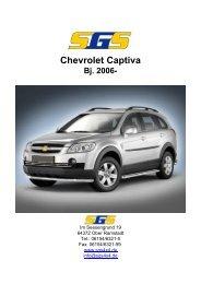 Chevrolet Captiva - SGS