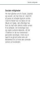 Sociale rettigheder - Hiv-Danmark - Page 3