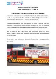 Foster Carers Urgently Needed - Belfast Health and Social Care Trust