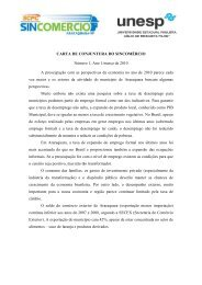 Carta de Conjuntura - março de 2010