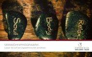 Broschüre Kosmetik & Massage - hotelgrischa.ch