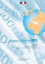 Rapport Tracfin 2011 - FONDAFIP