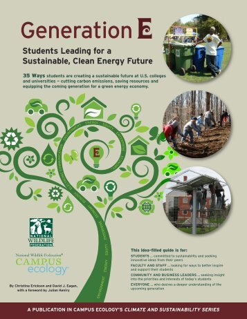 Generation - Sustainability @ Rice - Rice University