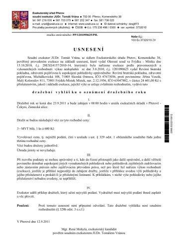 Elektronický dokument - Frýdek-Místek