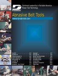 Abrasive Belt Tools Abrasive Belt Tools