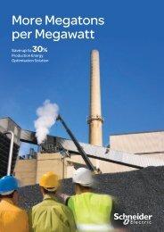 Production Energy Optimisation (pdf 1 Mb) - Schneider Electric