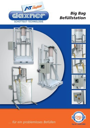 Prospekt Big Bag Befüllstation (deutsch) - Daxner International GmbH