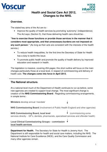changes in health care policy health and social care essay The purpose of healthcare policy and procedures is to activities that are critical to health and the affordable care act, other federal healthcare.