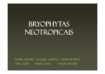 (Microsoft PowerPoint - Apresenta\347\343o ppt bryophytas ...