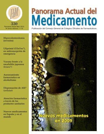 Nuevos medicamentos en 2009 - Correo Farmacéutico