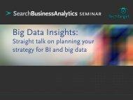 TT Roadshow - Architecting for Big Data Analytics and Beyond.pdf