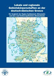 Lokale und regionale Gebietskörper schaften an ... - Pendlerinfo.org