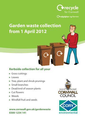 Garden Waste Leaflet - Torpoint Town Council