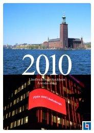 Årsredovisning 2010 - Länsförsäkringar