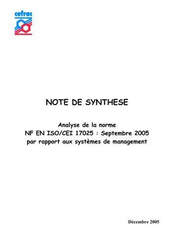 La Norme NF EN ISO/CEI 17025 - Management Qualité Informatisé ...