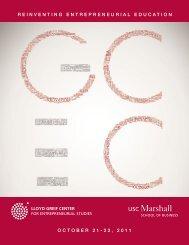Sponsors - 2011 Global Consortium of Entrepreneurship Centers