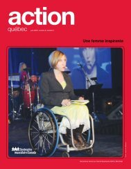 Une femme inspirante - Muscular Dystrophy Canada
