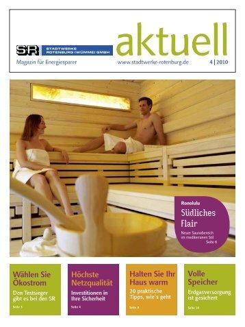 Ausgabe 04/2010 - Stadtwerke Rotenburg