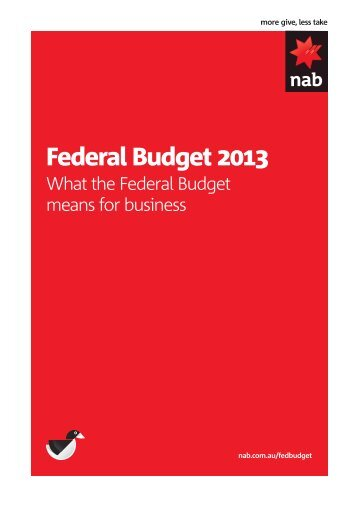 What the Federal Budget means for Business - Business Research ...