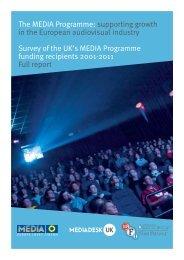 MEDIA Programme Review Survey Findings June ... - MEDIA Desk UK