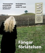 LUM nr 1 - 30 januari (PDF 4 MB - Nytt fönster) - Humanekologi ...