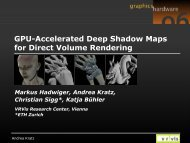 GPU-Accelerated Deep Shadow Maps for Direct Volume Rendering