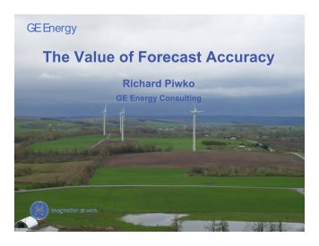 The Value of Forecast Accuracy