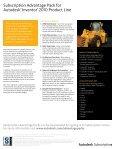 SubScription AdvAntAge pAckS - Cadgroup - Page 2