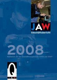 Geschäftsbericht - JAW Schleswig-Holstein