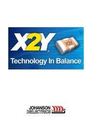 X2Y® Filter & Decoupling Capacitors Datasheet