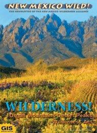 Organ Mountains-Desert Peaks - New Mexico Wilderness Alliance