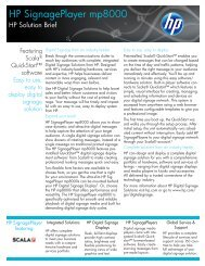 HP Solution Brief - BlueStar