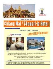 Offre 3Jours/2 Nuits à Chiang Mai - Forceten Travel Agency, Hong ...