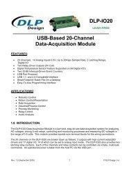 DLP-IO20 USB-Based 20-Channel Data-Acquisition Module - FTDI