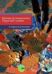 Informe de restauración: Virgen del Carmen - Publicatuslibros.com