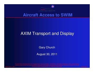 Air Carrier-Electronic Flight Bag - AiXM