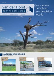 Magazine - Van der Horst Makelaardij