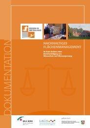 Projektdokumentation - Landesarbeitsgemeinschaft Agenda 21 ...