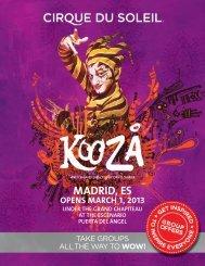 MADRID, ES - Cirque du Soleil