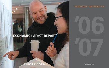 economic impact report '06 '07 - tbed