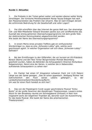 Fragen und Antworten - quiz.kistehgw.de