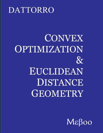 v2008.12.14 - Convex Optimization