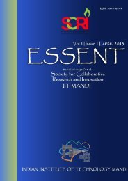 Issue1. Vol.1 (April, 2013) - IIT Mandi