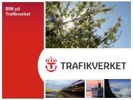 Presentation om Trafikverkets BIM-arbete - Adtollo