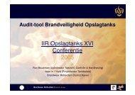 Audit-tool Brandveiligheid Opslagtanks - NIFV