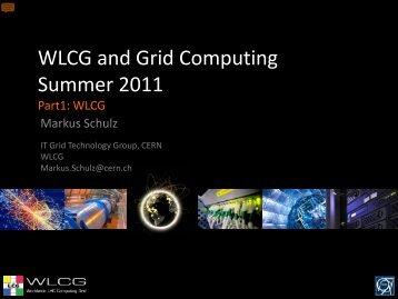 Worldwide LHC Computing Grid overview - CERN openlab