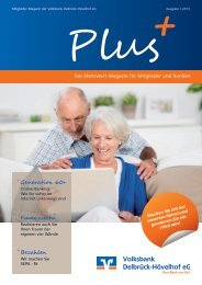 Download Kundenzeitung 01.2013 (PDF) - Volksbank Delbrück ...